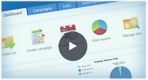 Email Marketing Tool Video Tour